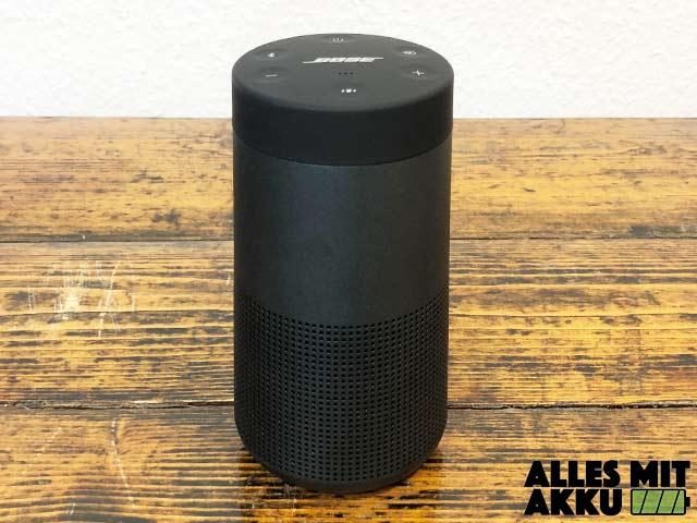 Bose SoundLink Revolve Test