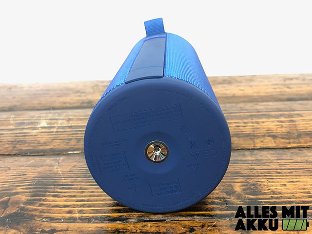 Ultimate Ears Megaboom 3 Test - Unten