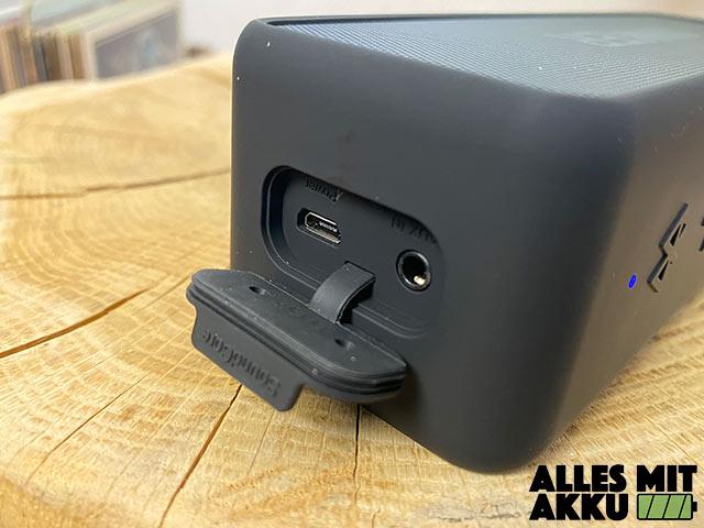 Anker SoundCore 2 Test - Anschlüsse