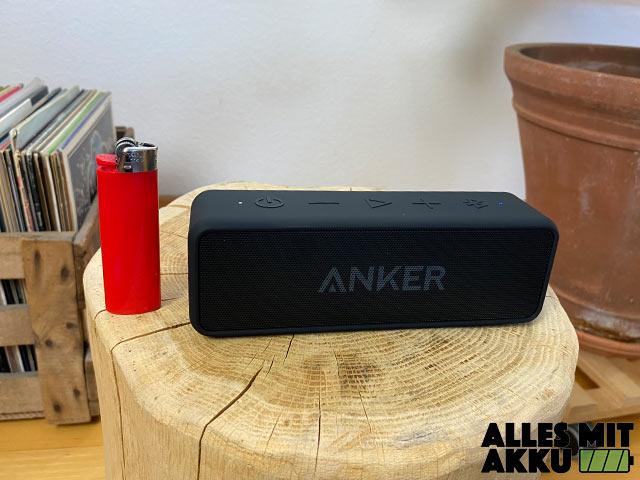 Anker SoundCore 2 Test - Größenvergleich