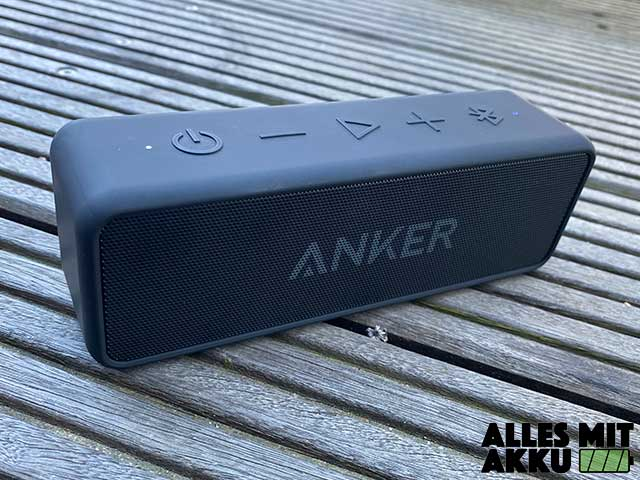 Anker SoundCore 2 Test - Outdoor