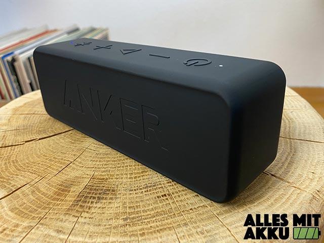 Anker SoundCore 2 Test - Rückseite