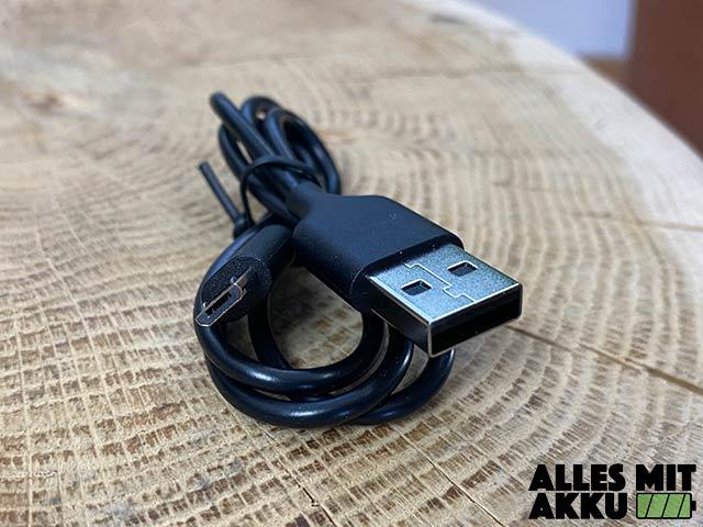 Anker SoundCore 2 Test - USB Kabel