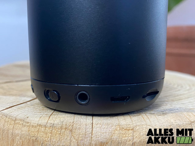 Anker SoundCore mini Test - Anschlüsse