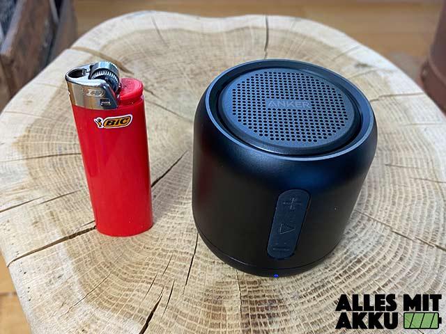 Anker SoundCore mini Test - Größenvergleich