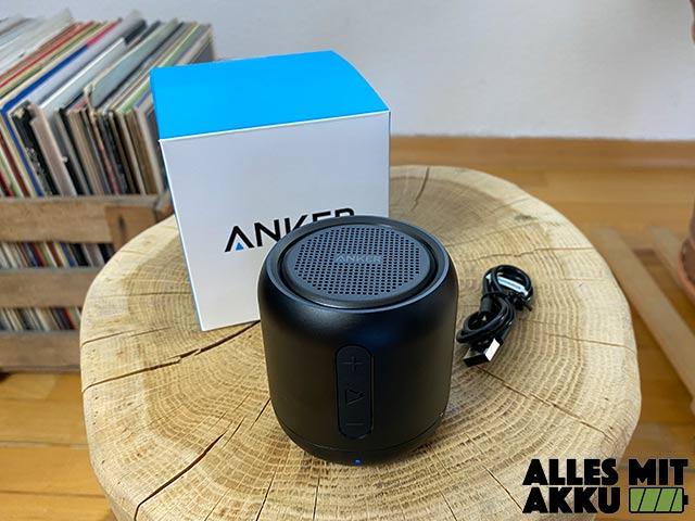 Anker SoundCore mini Test - Lieferumfang