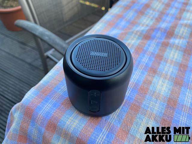 Anker SoundCore mini Test - Outdoor