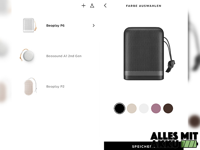 Bang & Olufsen Beoplay 6 Test - App