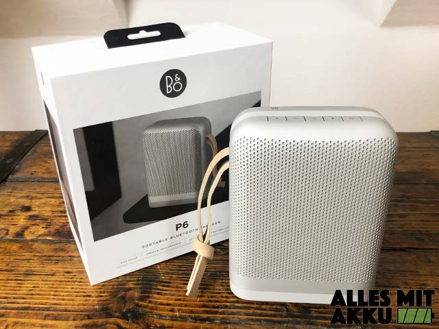 Bang & Olufsen Beoplay 6 Test - Lieferumfang