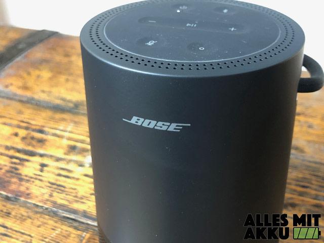 Bose Portable Smart Speaker Test - Logo