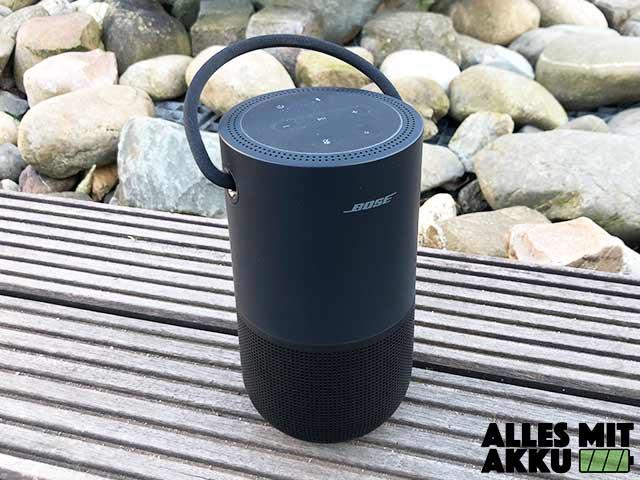 Bose Portable Smart Speaker Test - Outdoor 2