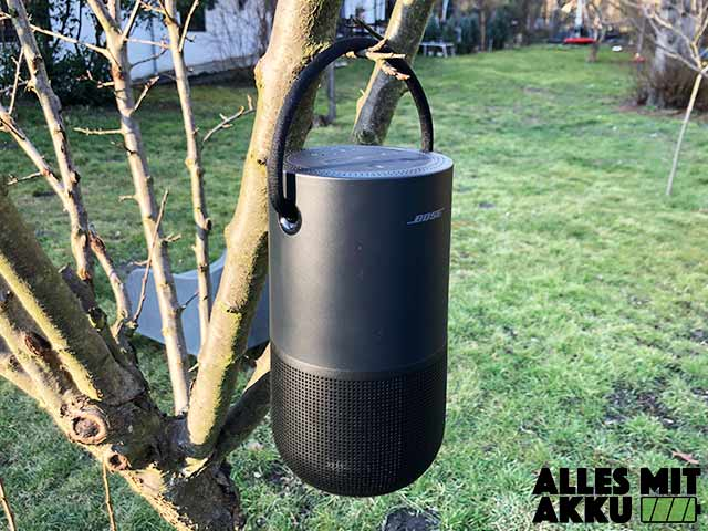 Bose Portable Smart Speaker Test - Outdoor