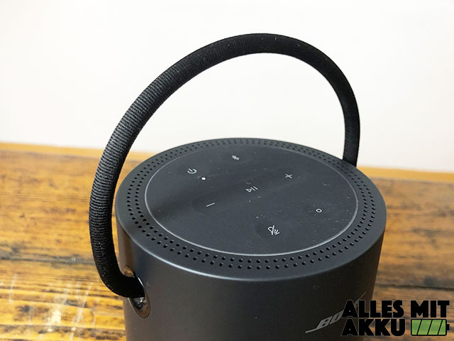 Bose Portable Smart Speaker Test - Trageband