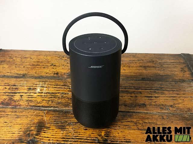 Bose Portable Smart Speaker Test