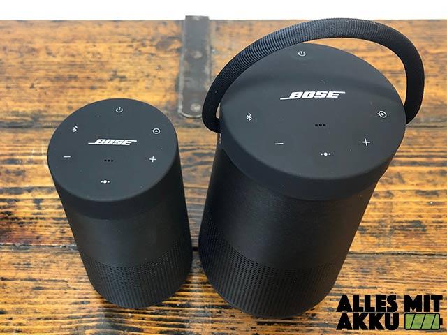 Bose SoundLink Revolve+ Test - Vergleich