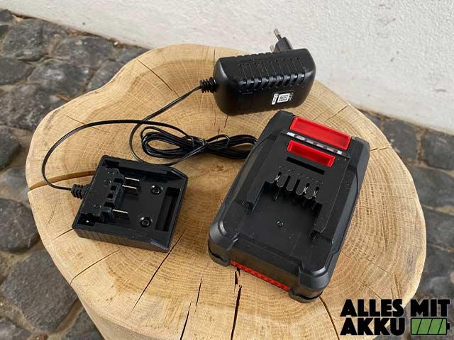 Einhell GC-CT 18/24 Li P Kit Power X-Change Test - Akku Ladegerät