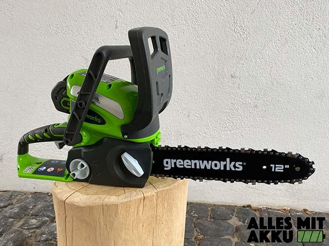 Greenworks G40CS30K2 Test - 2