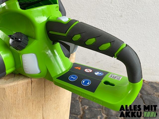 Greenworks G40CS30K2 Test - Griff