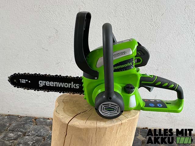 Greenworks G40CS30K2 Test