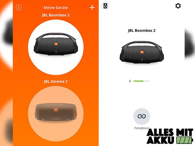 JBL Boombox 2 Test - App