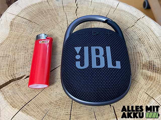 JBL Clip 4 Test - Größenvergleich