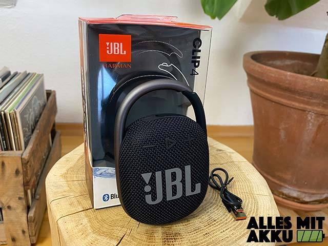 JBL Clip 4 Test - Lieferumfang