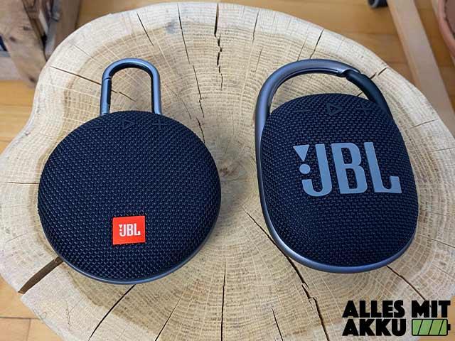 JBL Clip 4 Test - Vergleich