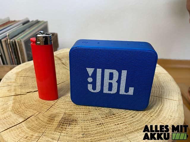 JBL Go 2 Test - Größenvergleich