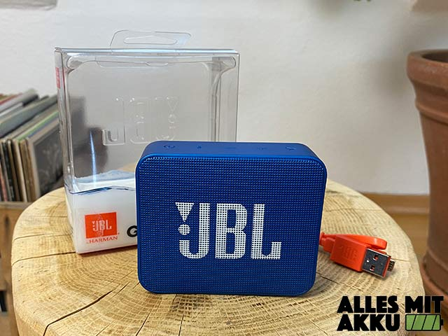 JBL Go 2 Test - Lieferumfang