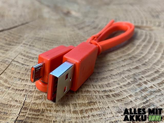 JBL Go 2 Test - USB Kabel