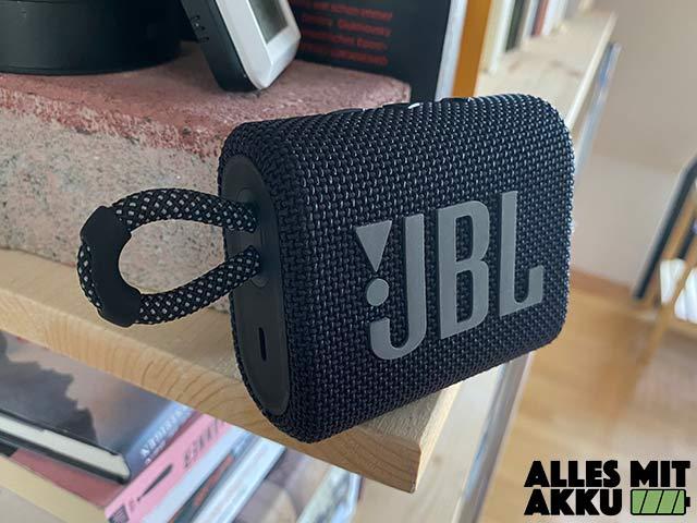 JBL Go 3 Test - Design