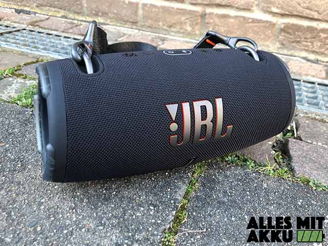 JBL Xtreme 3 Test - Outdoor 2
