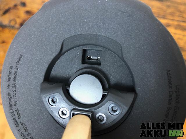 Ultimate Ears Megablast Test - Anschluss geschützt