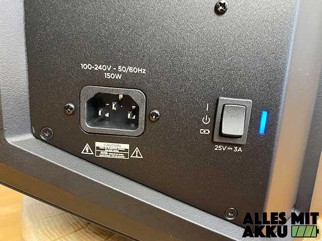 Bose S1 Pro System Test - Akku / Netzbetrieb