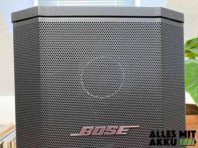 Bose S1 Pro System Test - Treiber