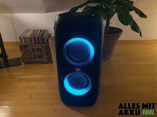 JBL PartyBox 310 Test - Lichtshow 2