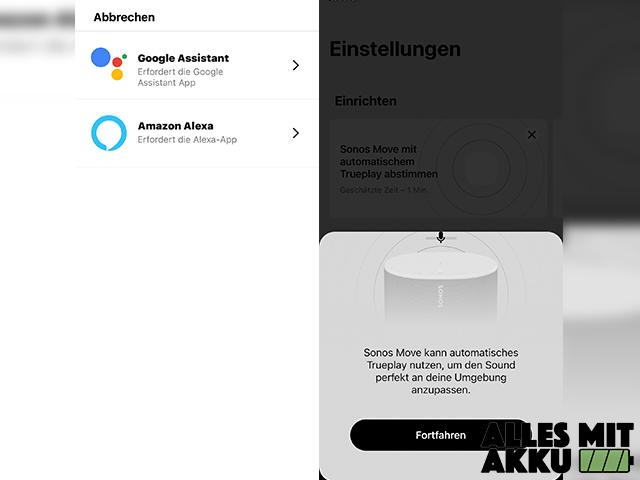 Sonos Move Test - App