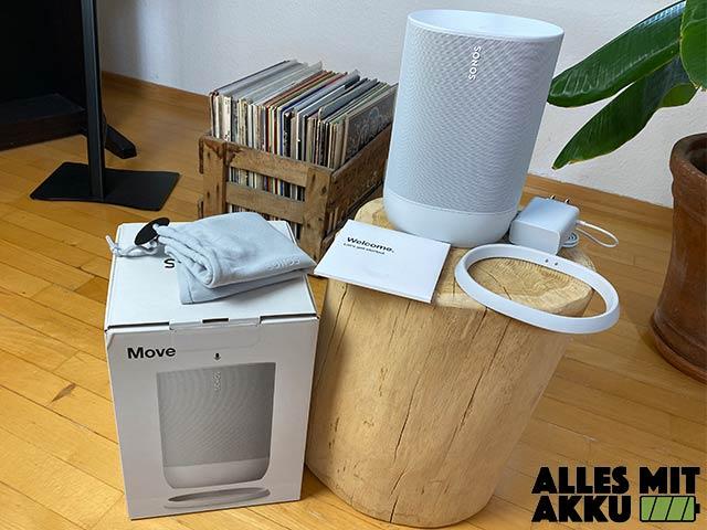 Sonos Move Test - Lieferumfang