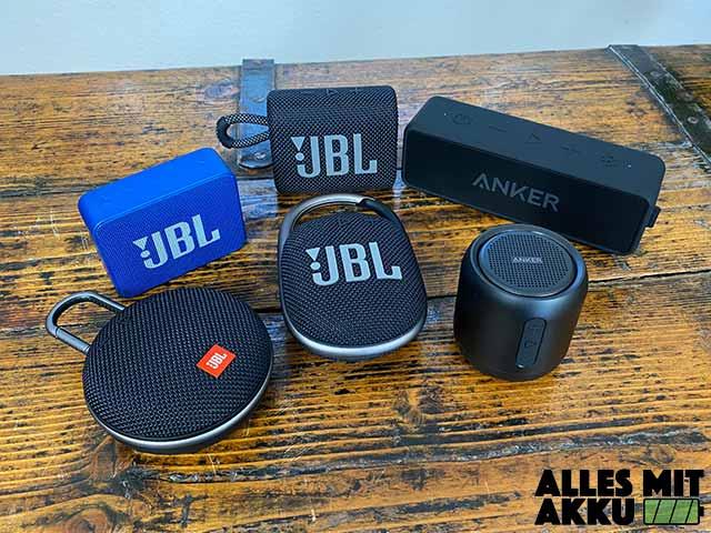 Bluetooth Lautsprecher Test - Unter 50 €