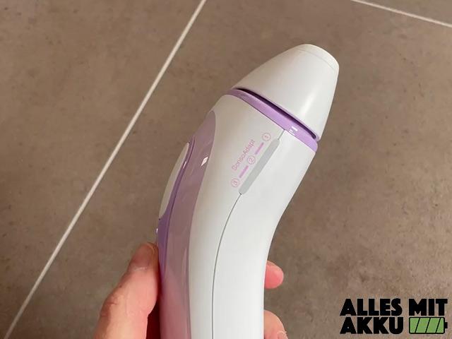 Braun Silk Expert Pro 3 Test - Seite - In der Hand