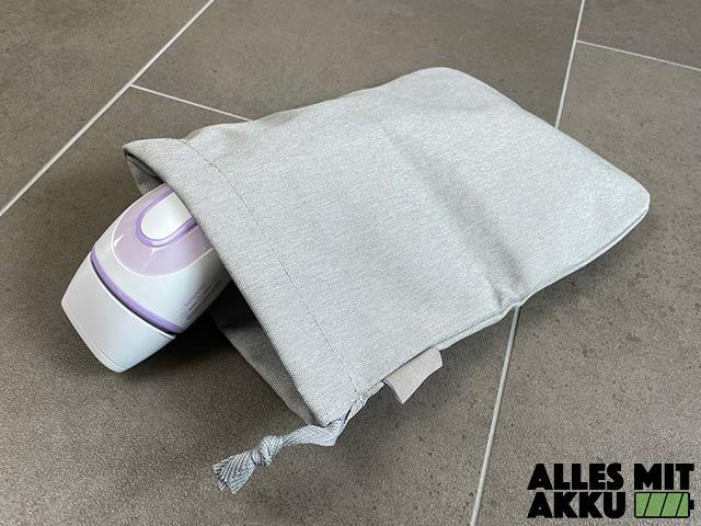 Braun Silk Expert Pro 3 Test - Tasche