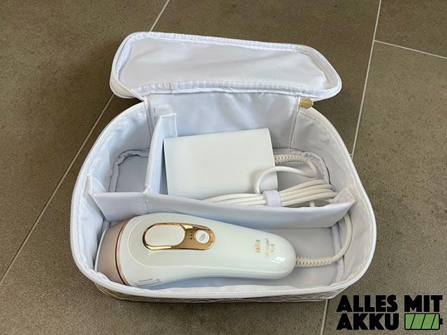 Braun Silk Expert Pro 5 Test - In der Tasche