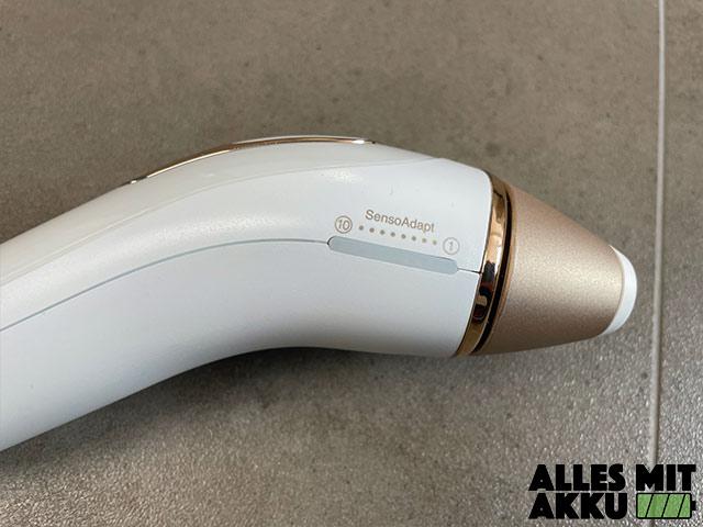 IPL Geräte Test - Braun Silk Expert Pro 5 - Seite