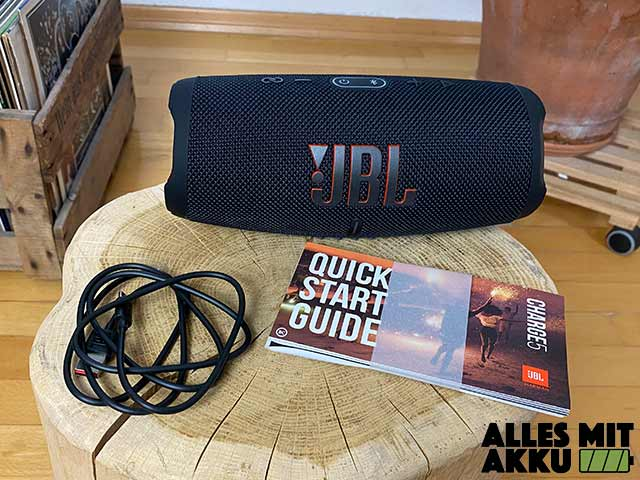 JBL Charge 5 Test - Lieferumfang