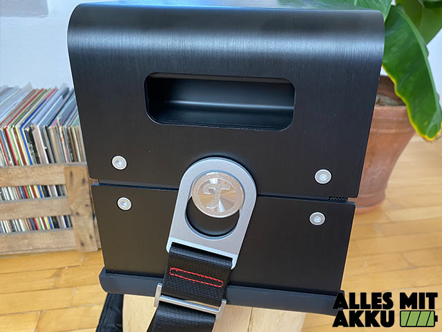 Teufel Boomster XL Test - Griff