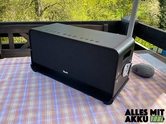 Teufel Boomster XL Test - Outdoor