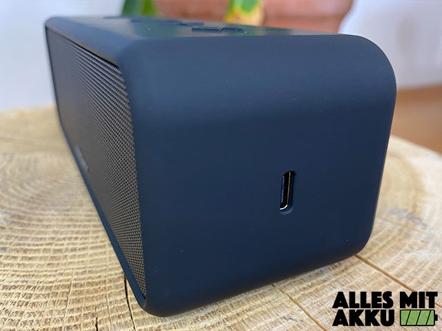 Anker SoundCore 3 Test - Anschluss