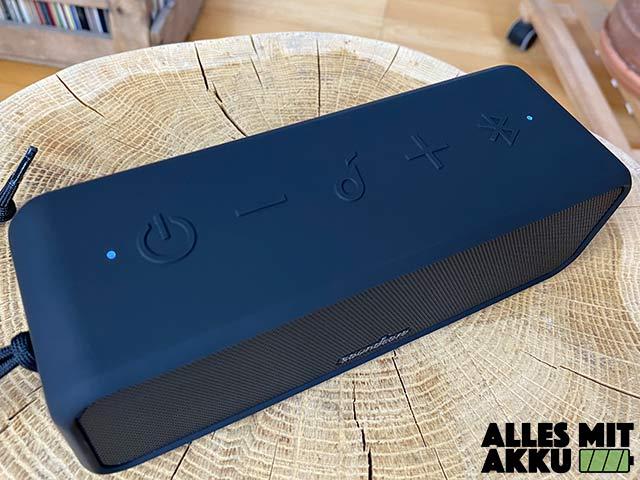 Anker SoundCore 3 Test - Bedienung