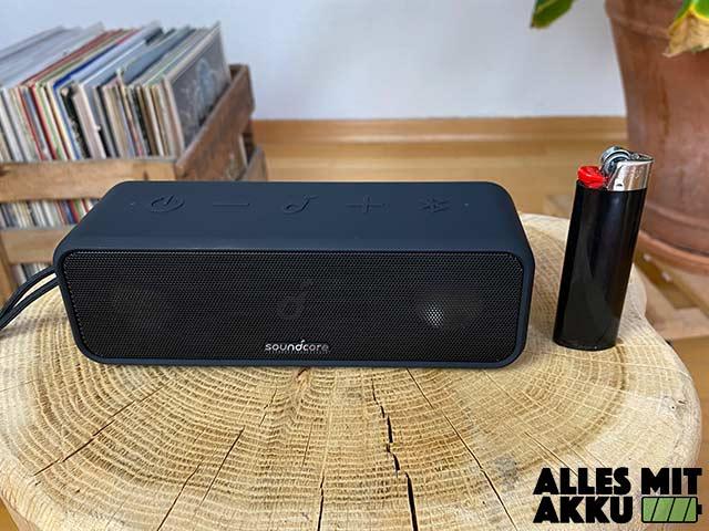 Anker SoundCore 3 Test - Größenvergleich
