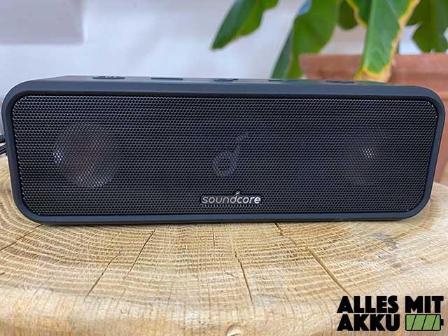 Anker SoundCore 3 Test - Lautsprecher
